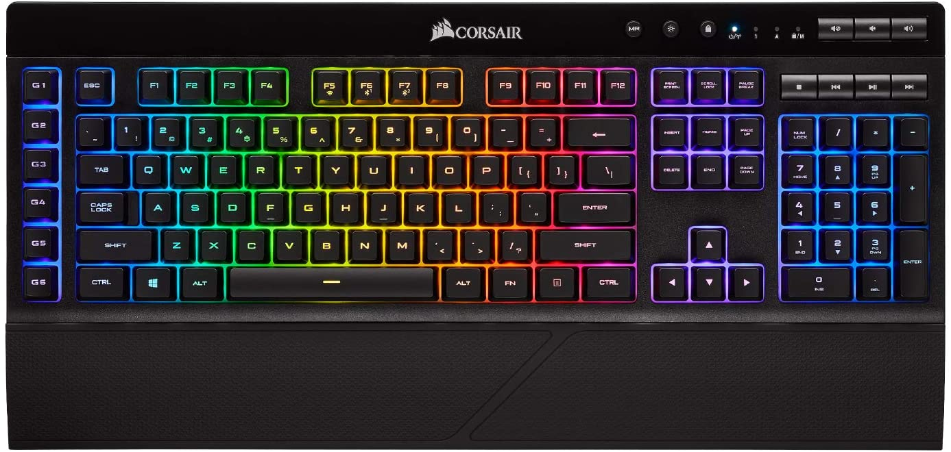 Corsair mechanical keyboard